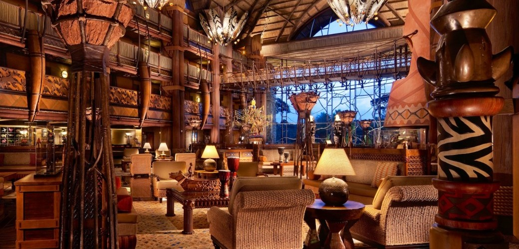 Disney's Animal Kingdom Lodge Lobby