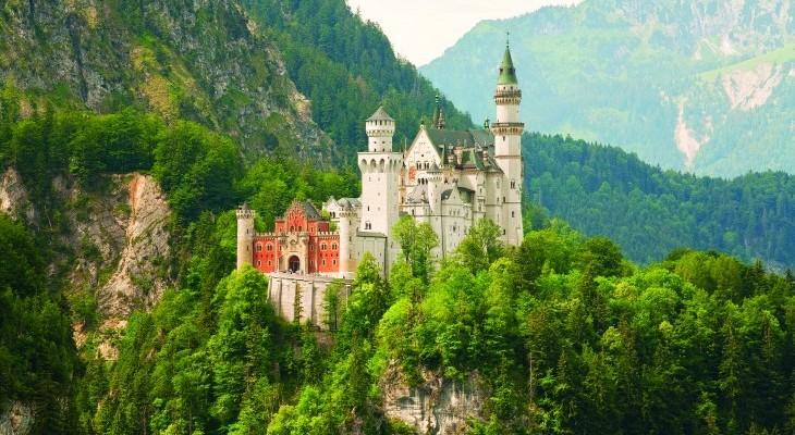 Neuschwantstein - a day trip from Munich