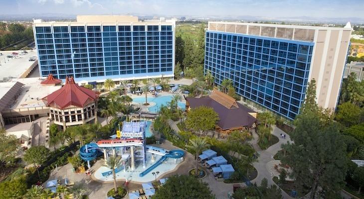Disneyland Hotel Pools