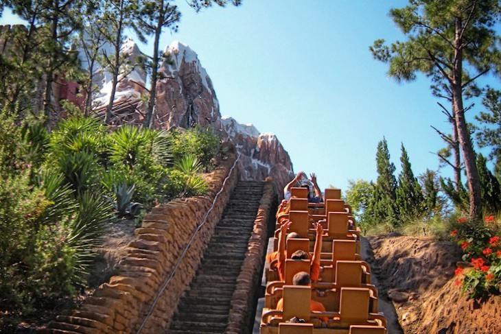 The thrill of a great ride - Expedition Everest