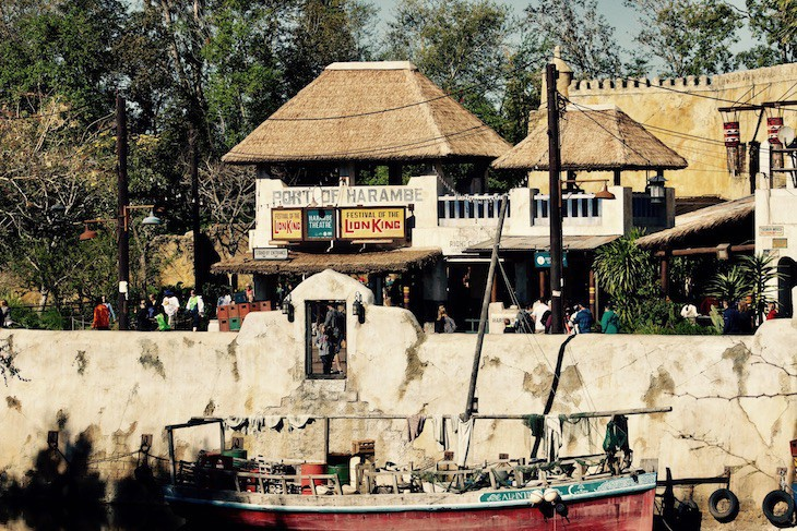 Harambe from Discovery River bridge