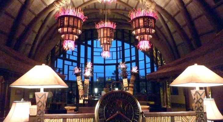Animal Kingdom Villas Kidani Lobby