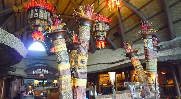Animal Kingdom Villas Kidani Lobby