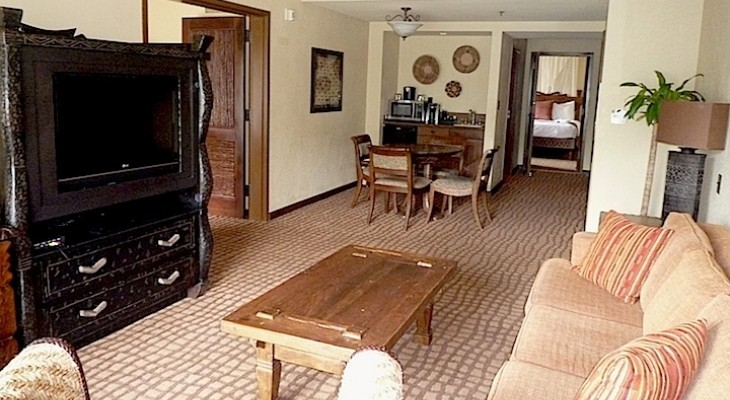 Two-Bedroom Suite Living Area