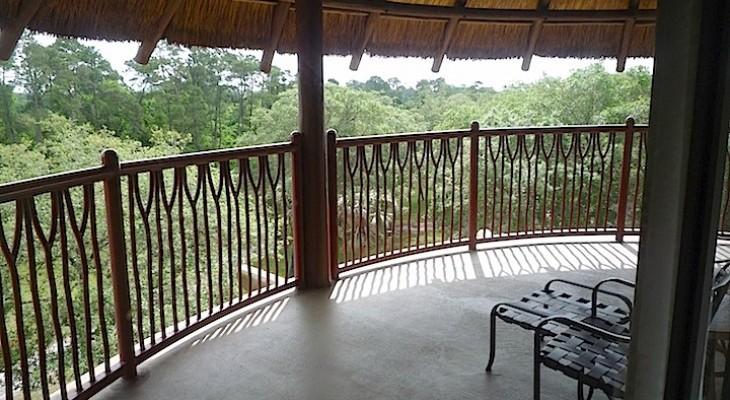 Jambo House Grand Villa balcony