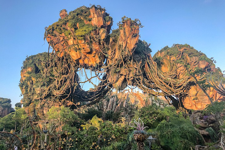 Hanging Mountains of Pandora