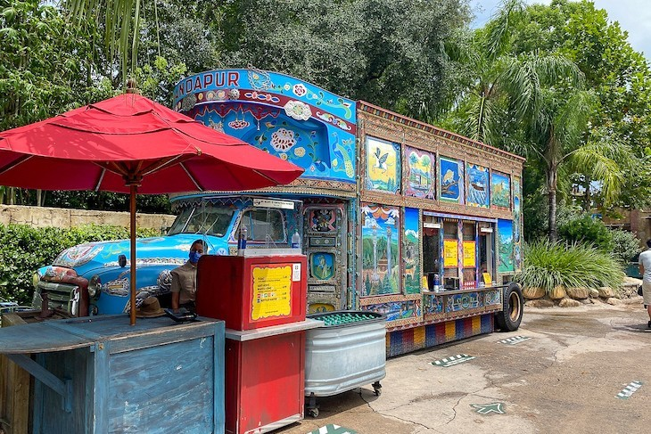 How about this fun ice cream bus?