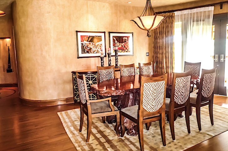 Royal Assante Presidential Suite dining room