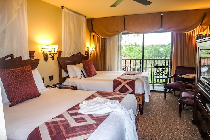 Disney S Animal Kingdom Lodge Disney Suites Cara