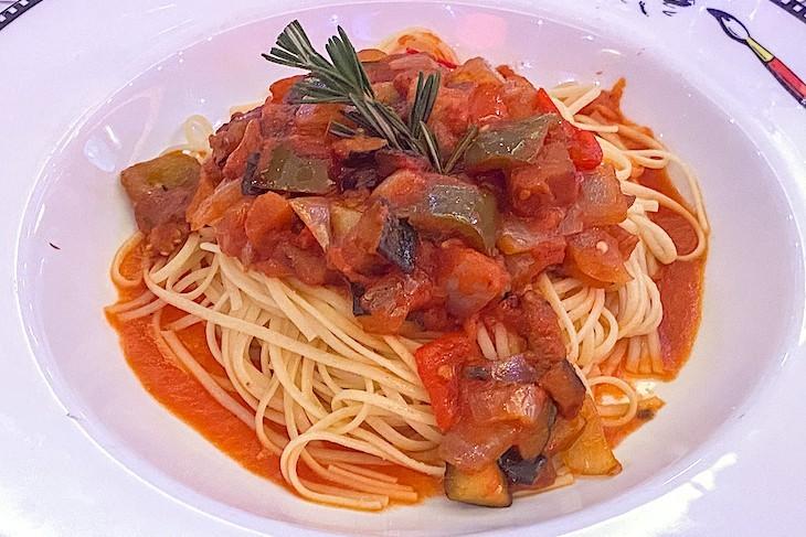 Animator's Palate vegan pasta