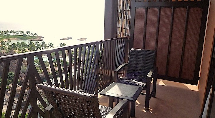 Guest Room Balcony with Partial Ocean View
