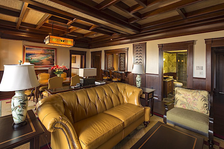 'Ahu 'Ula Presidential Suite Living Area