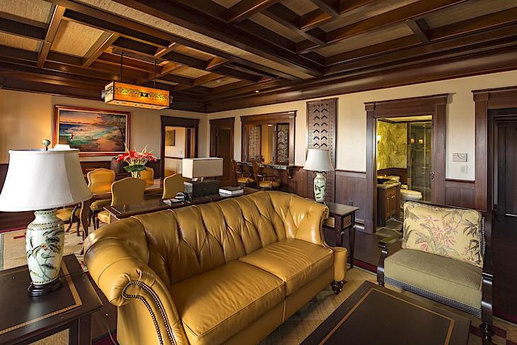 'Ahu 'Ula Presidential Suite Living Area