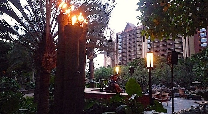 Aulani's Torch-lit Grounds