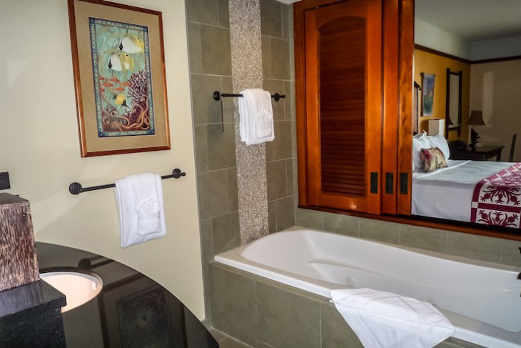 One-and two-bedroom Villa Master Bath