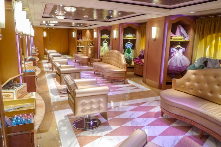 Disney Fantasy and Dream's Bibbidi Bobbidi Boutique
