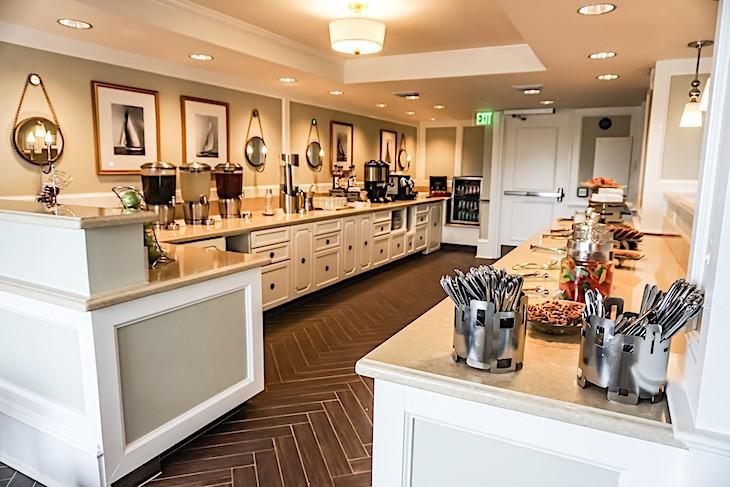 Stone Harbor Club concierge lounge
