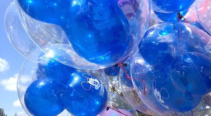 Always balloons!