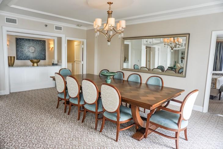 Presidential Newport Suite Dining Room