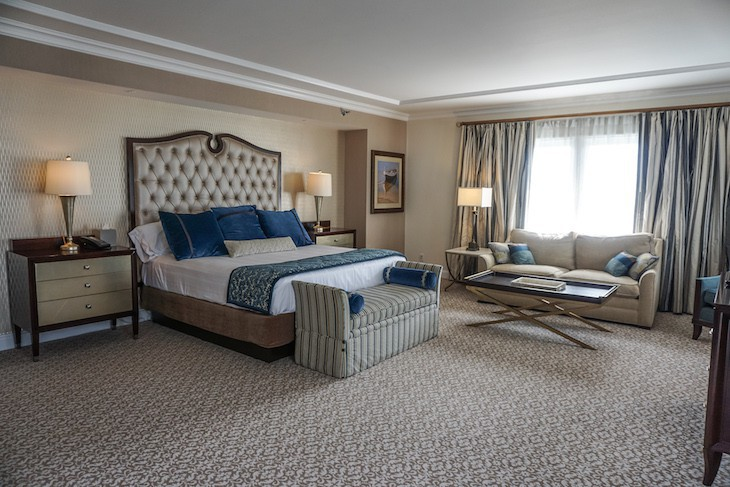 Presidential Newport Suite Master Bedroom
