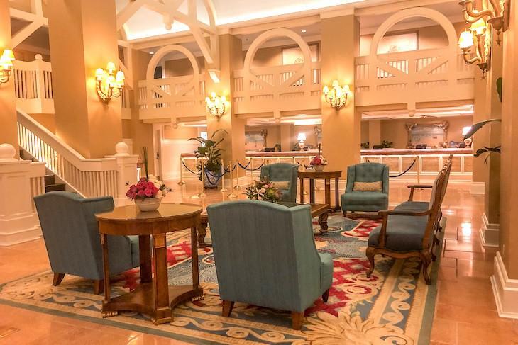 Beach Club Resort lobby