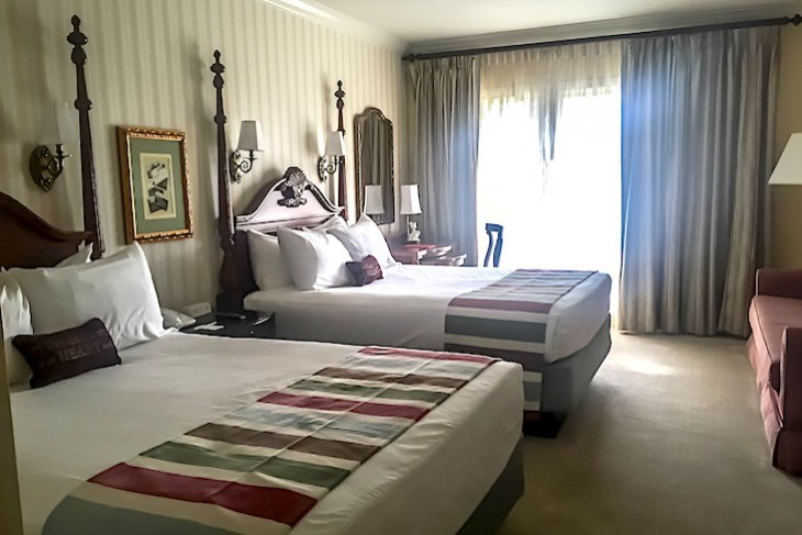 Two-bedroom suite guest room