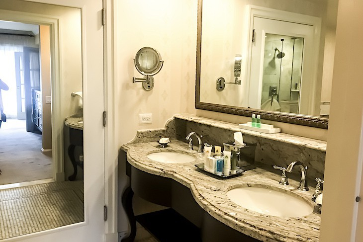 Two-bedroom suite master bath
