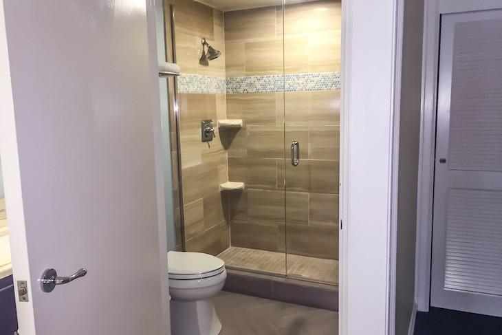 Garden Suite Master Bath shower