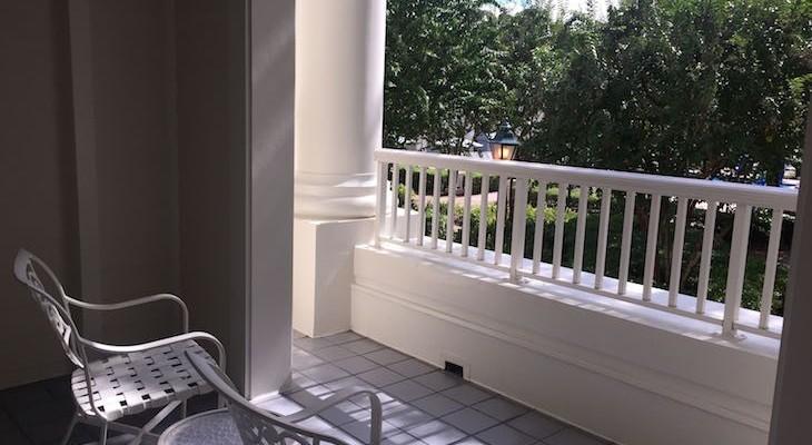 Garden Suite Balcony