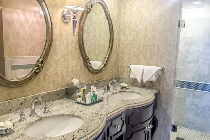 Sonora Suite's master bath