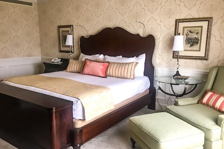 Steeplechase Suite's master bedroom