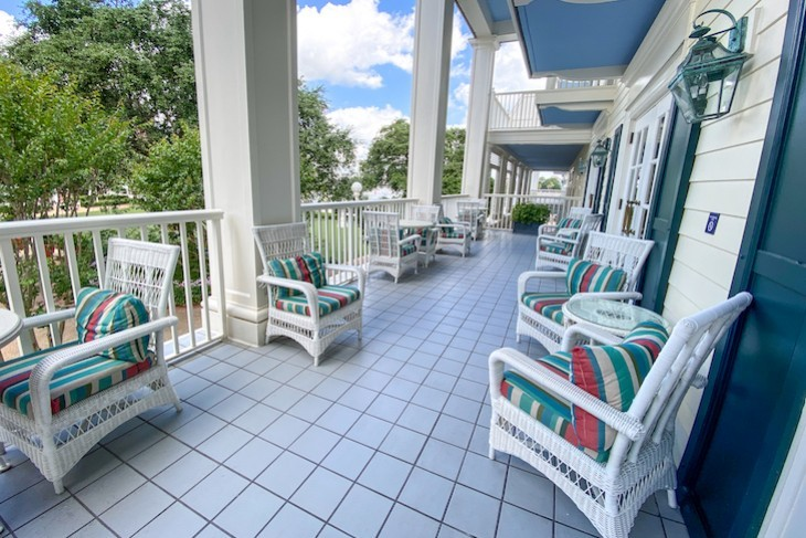 Belle Vue Lounge terrace