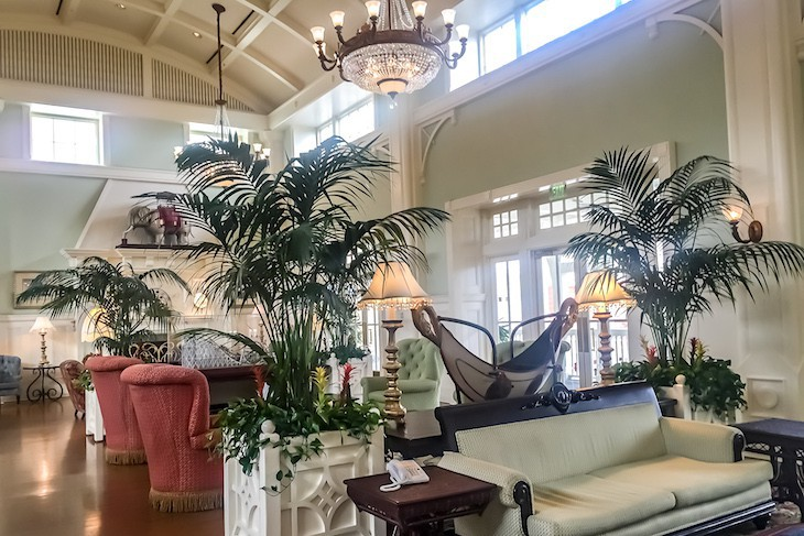 Boardwalk Inn Lobby