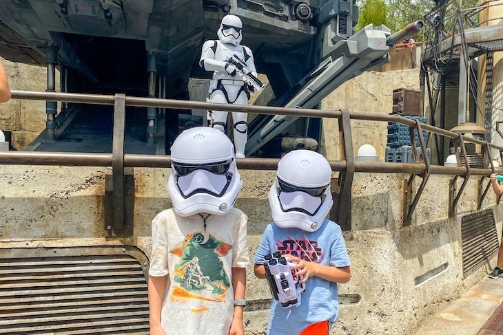 Stormtrooper fun!