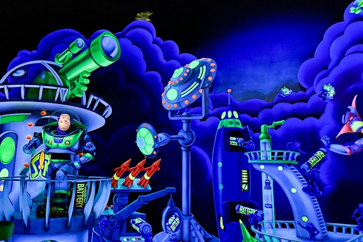 Buzz Lightyear Space Ranger Spin® Attraction