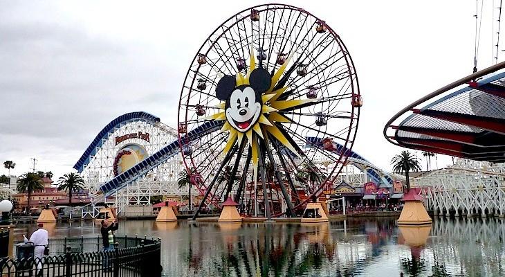 Mickey's Fun Wheel and California Screamin'