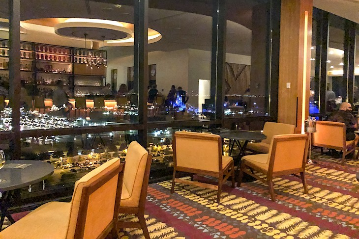 California Grill Lounge is one of the best places for a view of Magic Kingdom