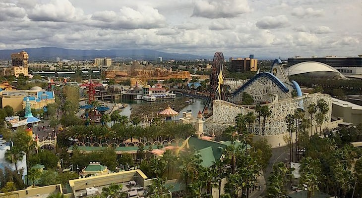 Overview of California Adventure Park