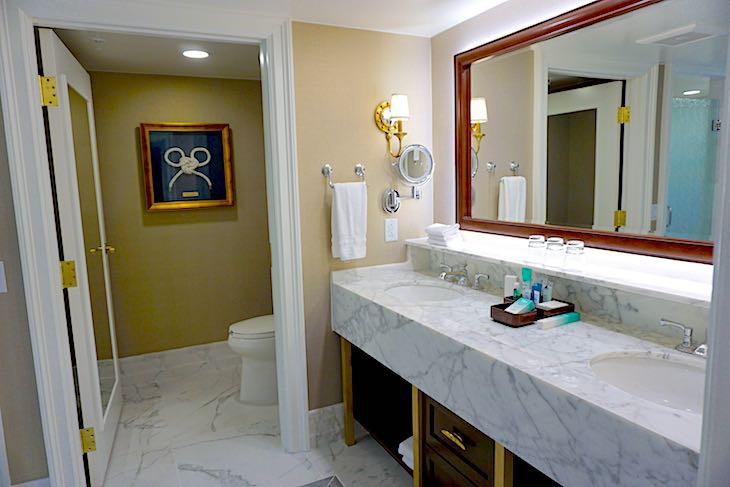 Captain Deck Suite's master bath