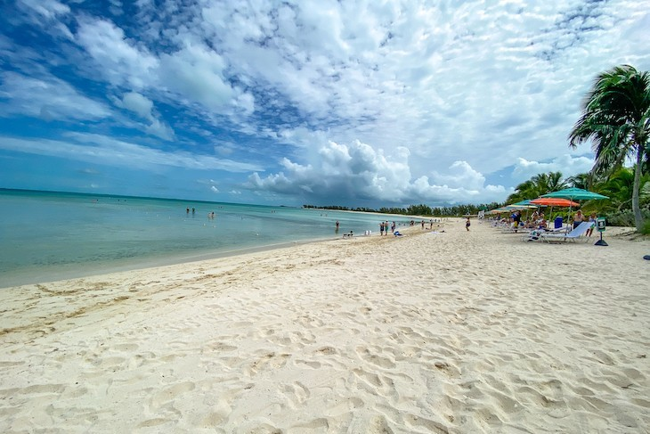 Castaway Cay Serenity Bay adult-exclusive beach
