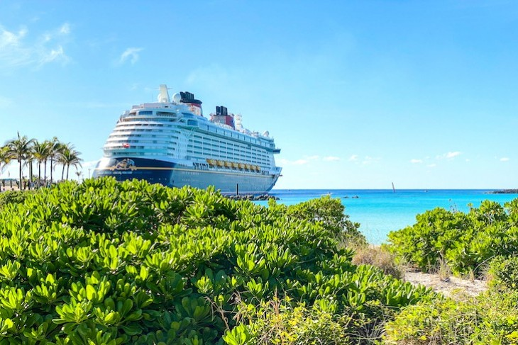 Disney Fantasy on Castaway Cay