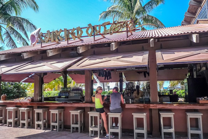 Castaway Cay's Conched Out Bar
