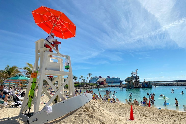 Kick back and relax on Castaway Cay