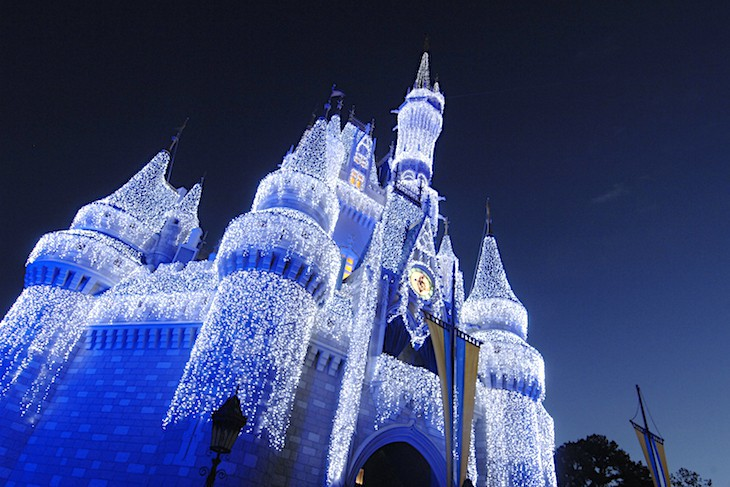 Christmas is a special time of year at the Magic Kingdom