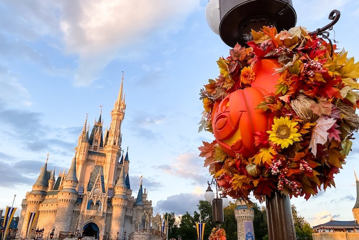 Magic Kingdom at Halloween time