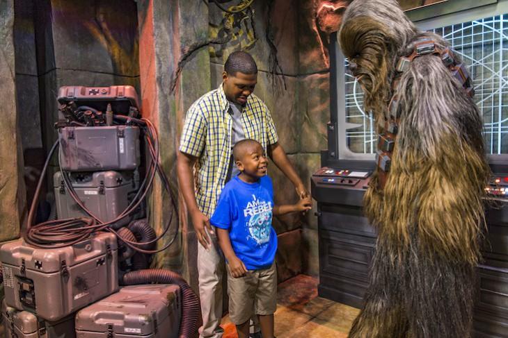Star Wars Launch Bay Meet Chewbacca