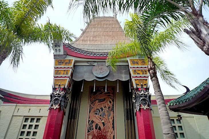 Replica of Grauman's Chinese Theater