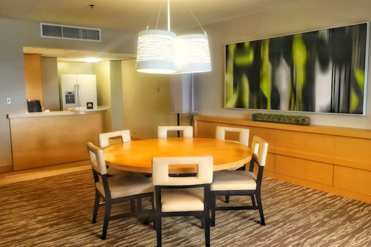 Contemporary Resort's Two- or One-bedroom Suite Dining