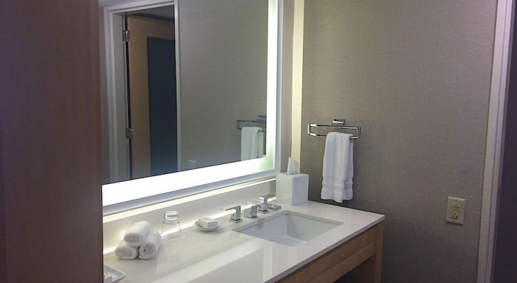 Contemporary Resort's Two- or One-bedroom Suite Bath