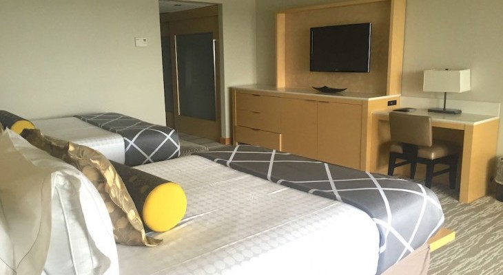 Contemporary Resort's Two- or One-bedroom Suite Bedroom
